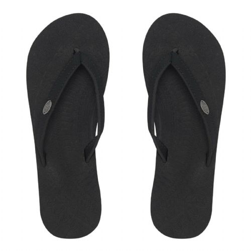 ANIMAL WOMENS FLIP FLOPS.NEW SORELLA BLACK ELASTANE SOFT TOE POST THONGS 9S 12/2